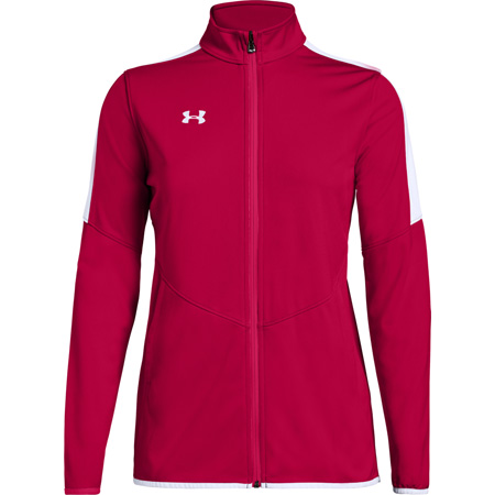 810c5aa73 UA Rival Knit Women's Warm-Up Jacket | FirsttotheFinish.com