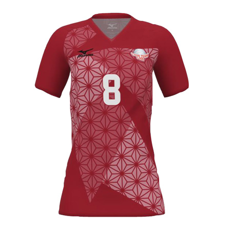 sports shoes 527af 45308 Mizuno Short Sleeve Sublimated Jersey | FirsttotheFinish.com